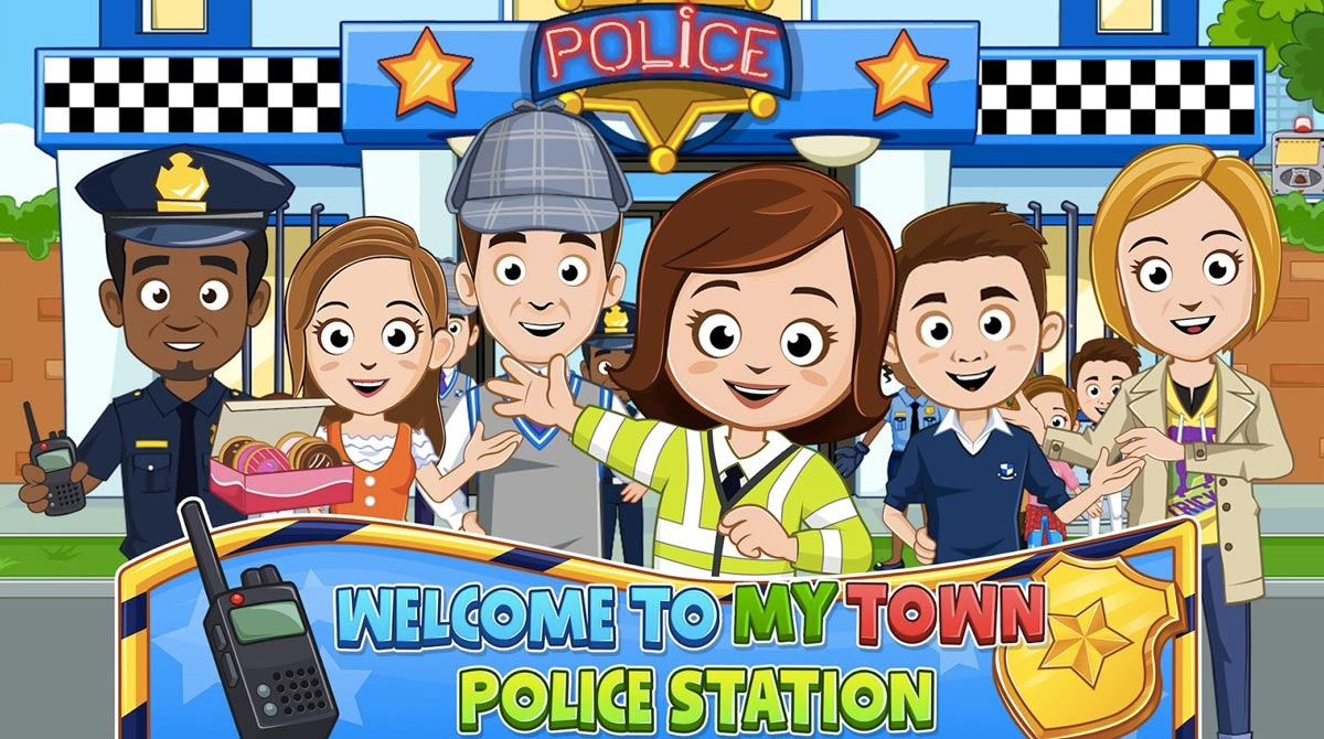 my town police station people