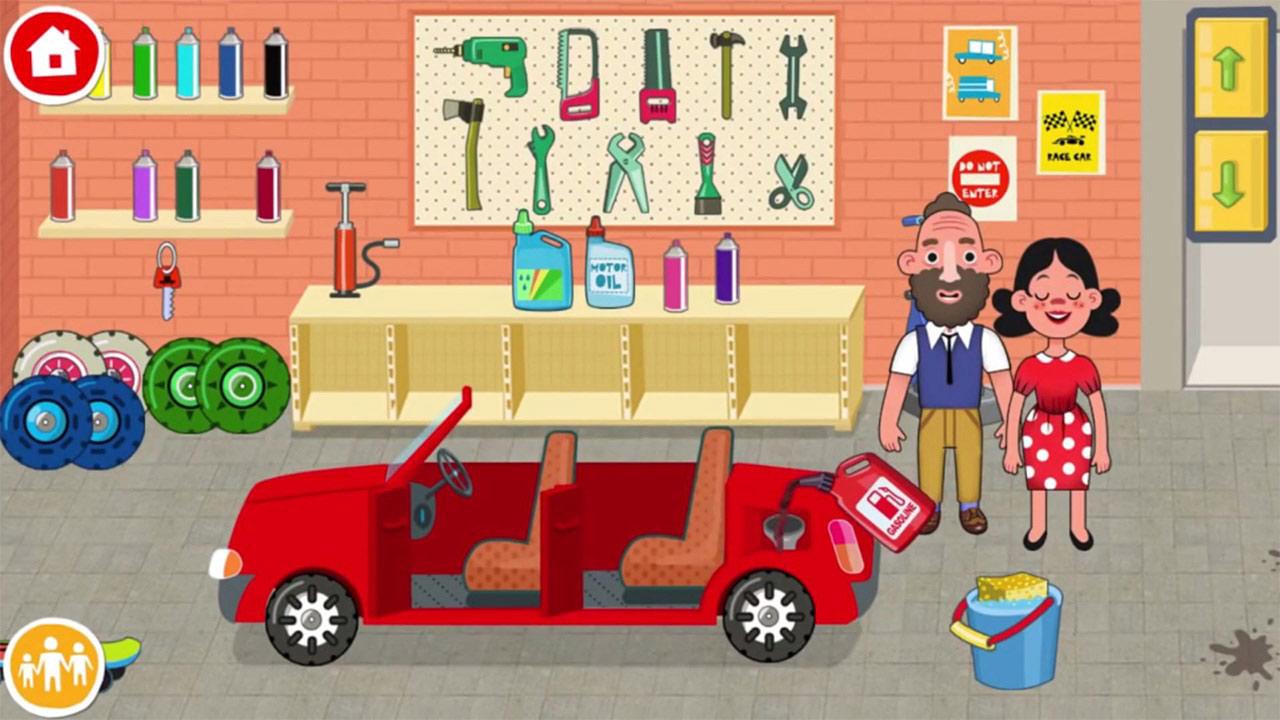 Pepi House Spouse Car Maintenance