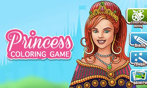 Play Princess Coloring Game on PC
