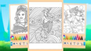 Princess Coloring Game Mermaid