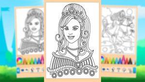 Princess Coloring Game Queen