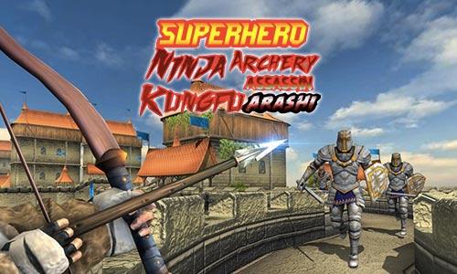 Play Superhero Ninja Archery Assassin Kungfu Arashi on PC