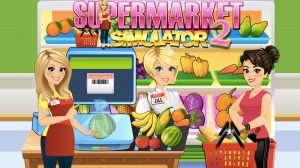 supermarket grocery store girl download free
