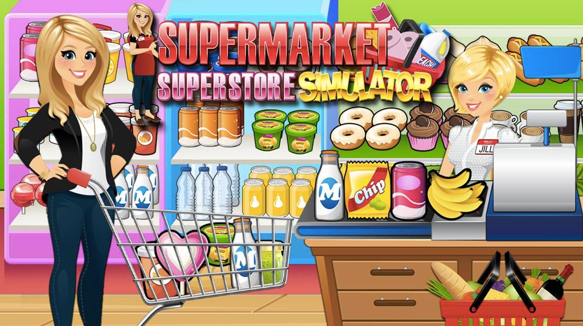 Supermarket Grocery Superstore - Supermarket Games
