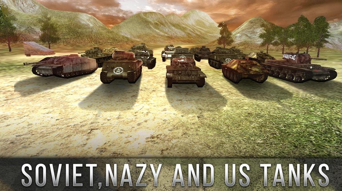 Tank Battle 3D: World War II | Games lol