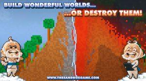 the sandbox craft play share download PC free