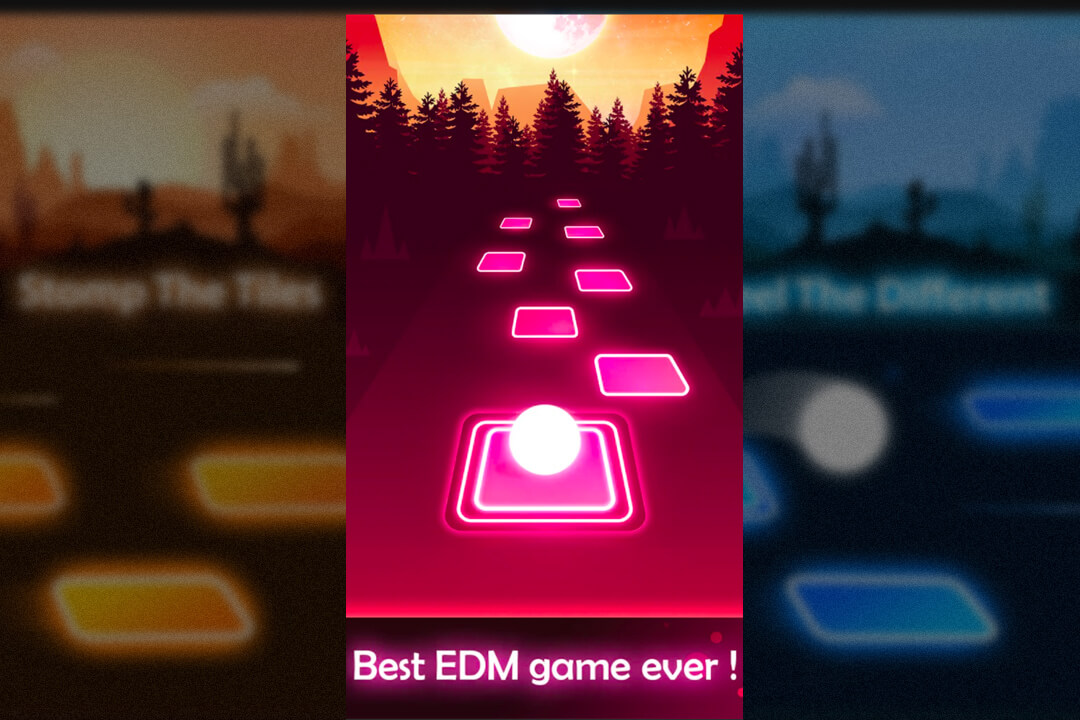Tiles Hop Best EDM Game