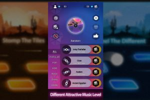 Tiles Hop Different Attractive Music level