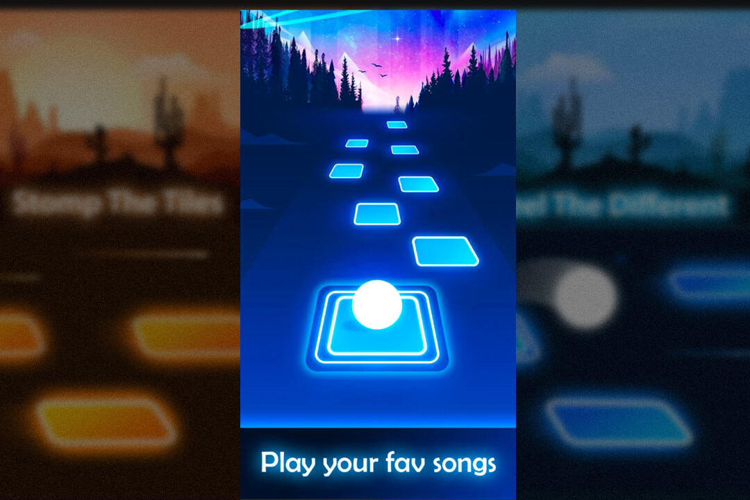 Tiles Hop Play Your Favorite Songs