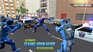 Ultimate KungFu Superhero Fake Police