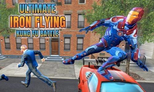 Play Ultimate KungFu Superhero Iron Fighting Free Game on PC