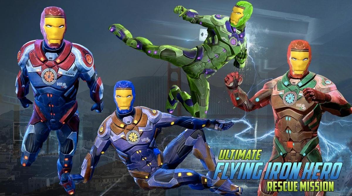 Ultimate KungFu Superhero Rescue Mission