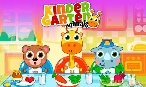 Play Kindergarten : animals on PC