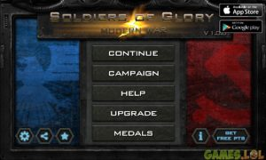Soldiers of Glory Modern War 29952 play now 11840