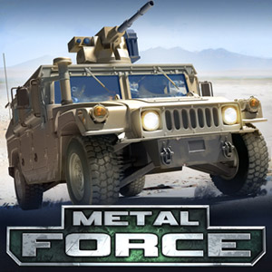Play Metal Force: War Modern Tanks on PC