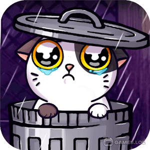 Play Mimitos Virtual Cat – Virtual Pet with Minigames on PC