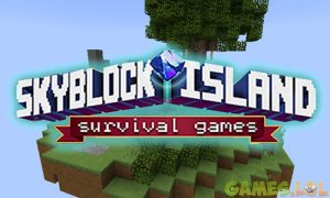 Play Skyblock Island Survival Games on PC