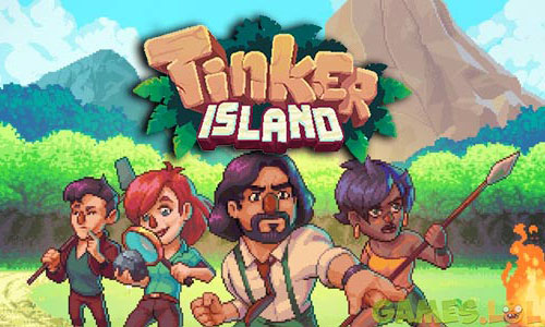 Play Tinker Island – Pixel Art Survival Adventure on PC