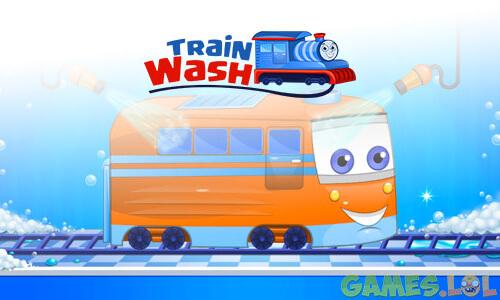Play Train Wash on PC