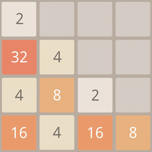 Play 2048 on PC