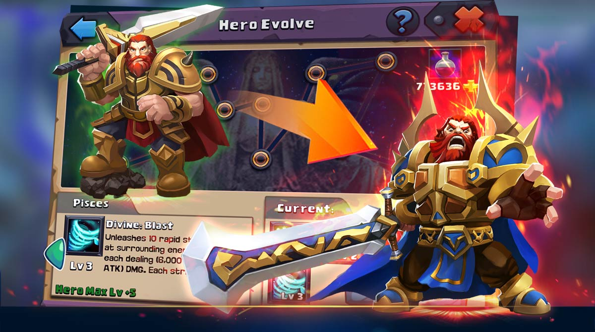 Clash of Lords 2 Evolving Paladin