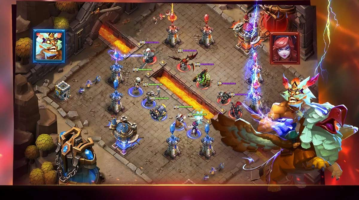 Clash of Lords 2 Griffin Rider