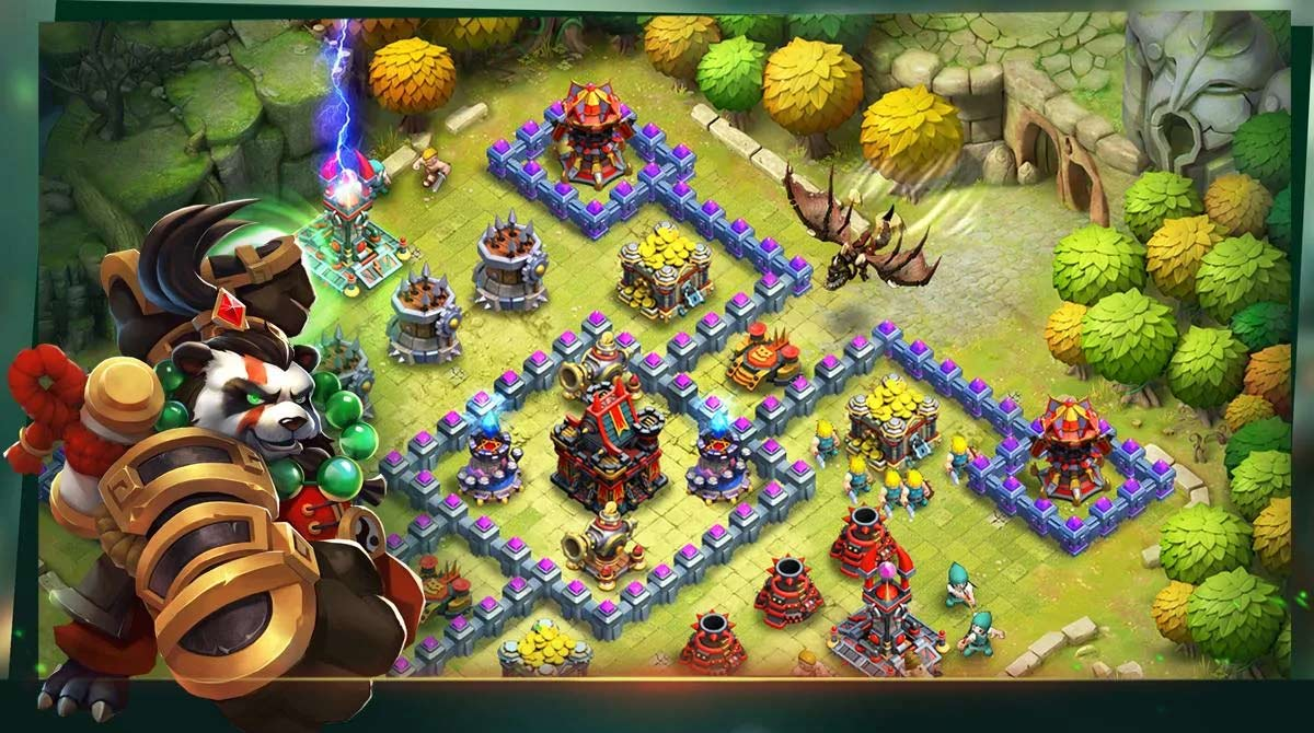 Clash of Lords 2 Panda Monk