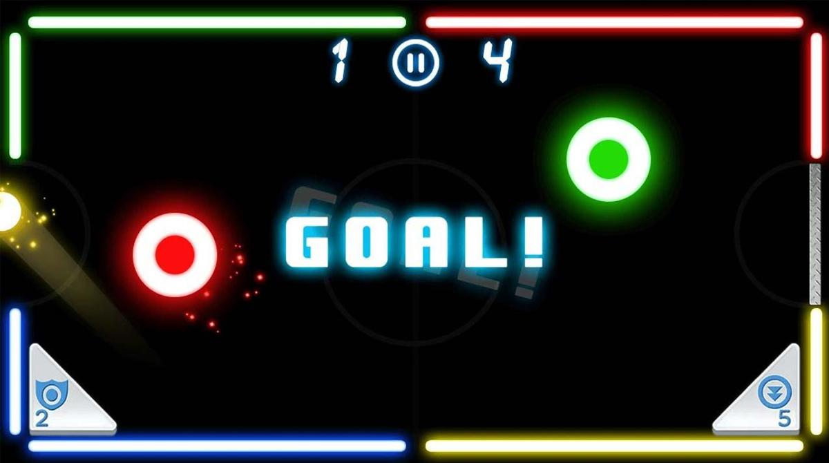 air hockey deluxe goal