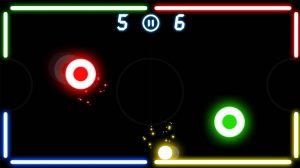 air hockey deluxe tight match