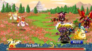 brave frontier fire spirit garden battle