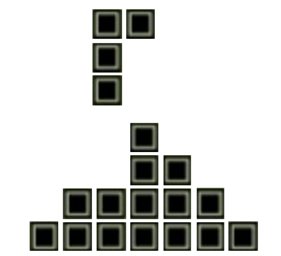 Brick Game L Block Drop