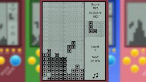 Brick Game Z Shape Drop