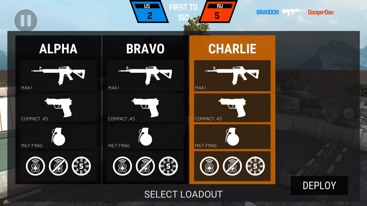 bullet force charlie loadout
