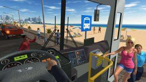 Bus Game Passengers Entering