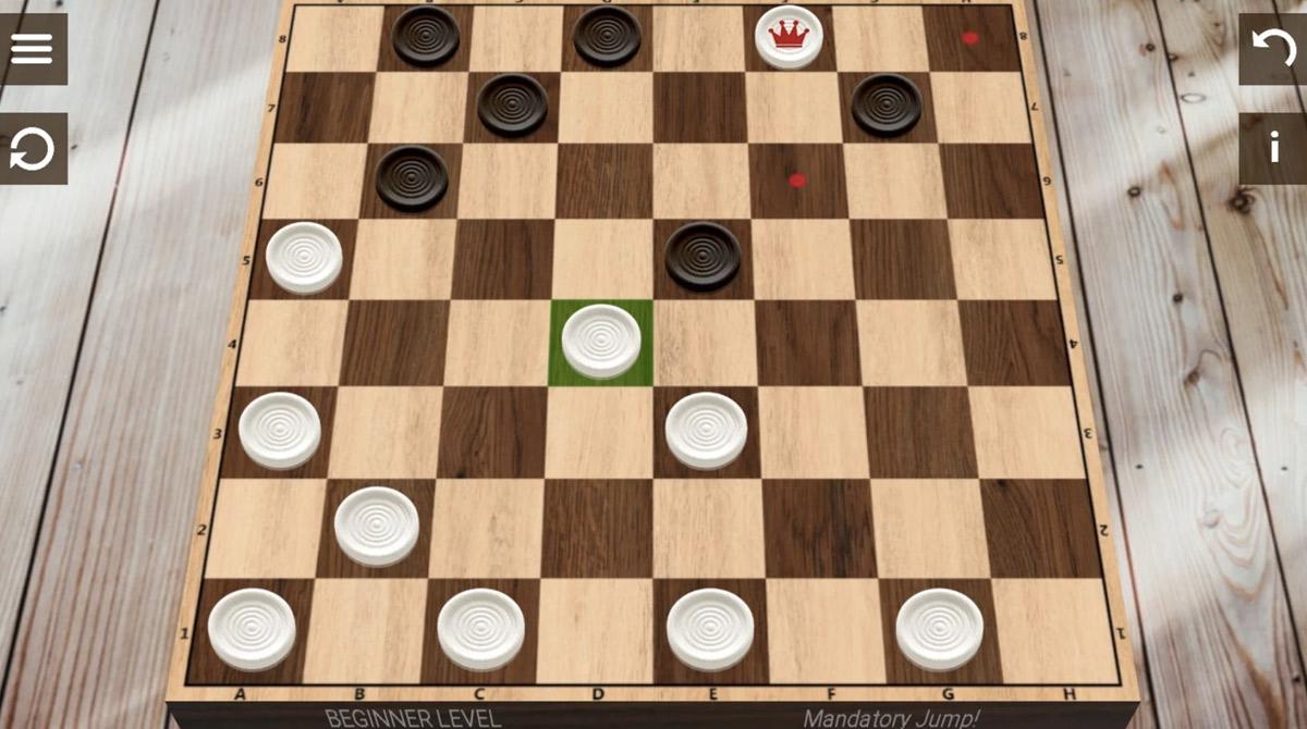 checkers ash gray board