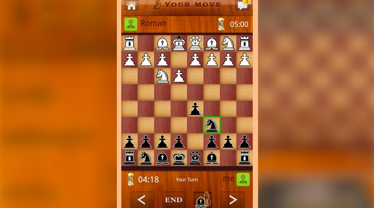 chess live black knight turn