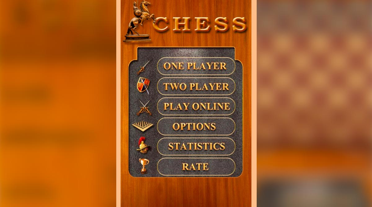 chess live select game mode