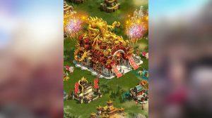 clash of kings wonder falls chinese dragon