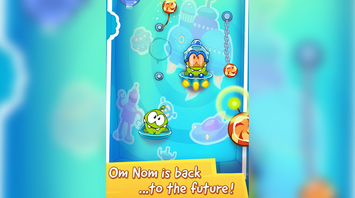 cut the rope On nom