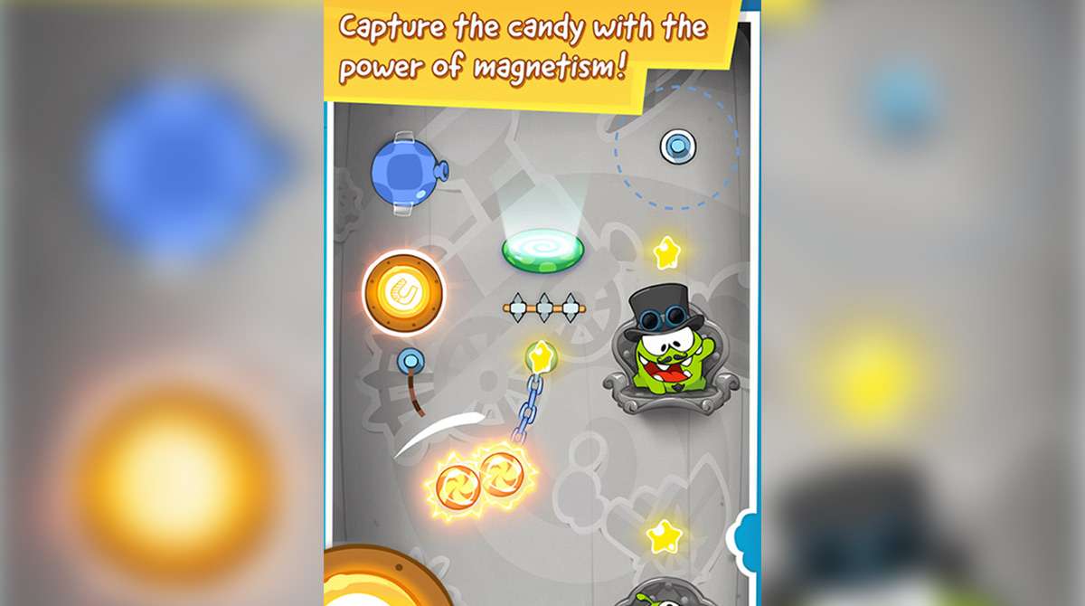 cut the rope magnetite