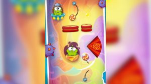 cut the rope vikings candy