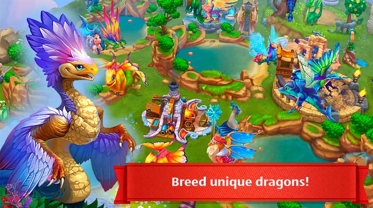 dragonsworld unique dragons