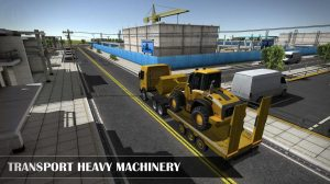 drive simulator heavy machenery