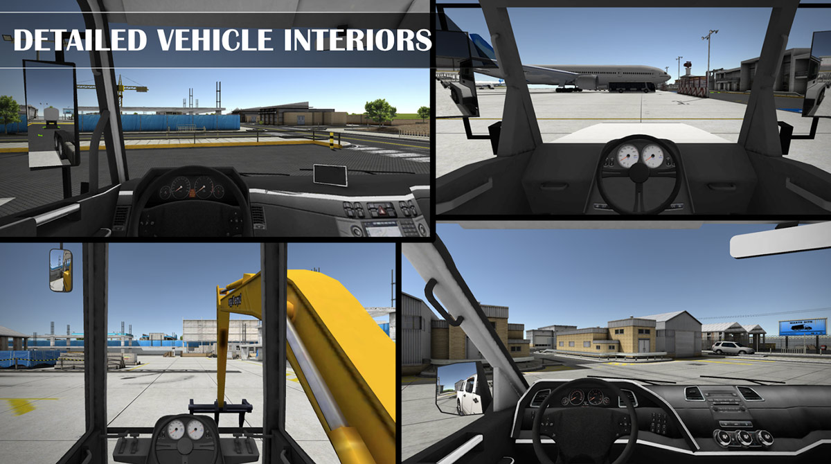 drive simulator interiors