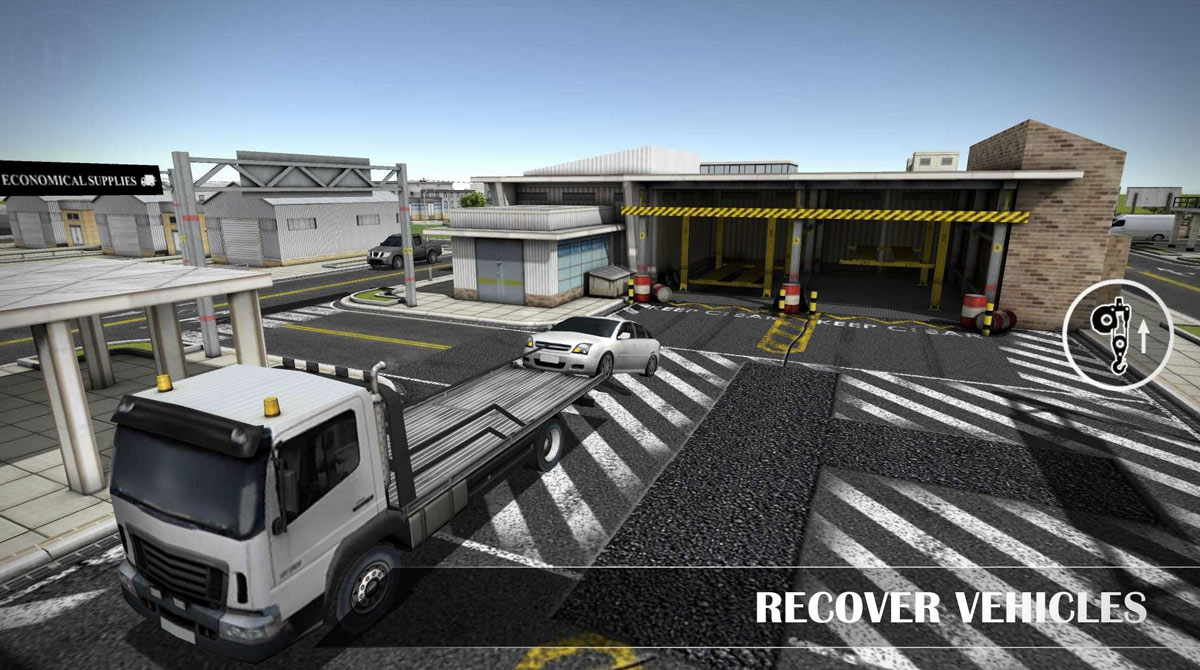 drive simulator recovery vehicles