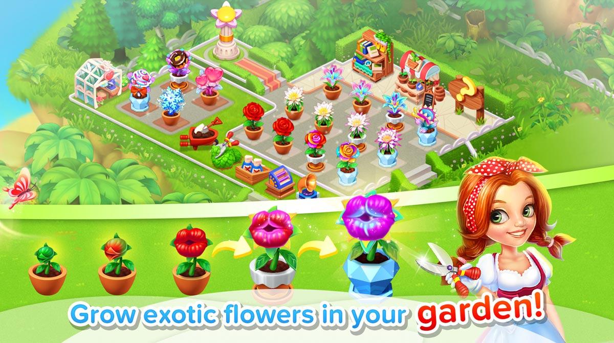 family farm exotic flowers