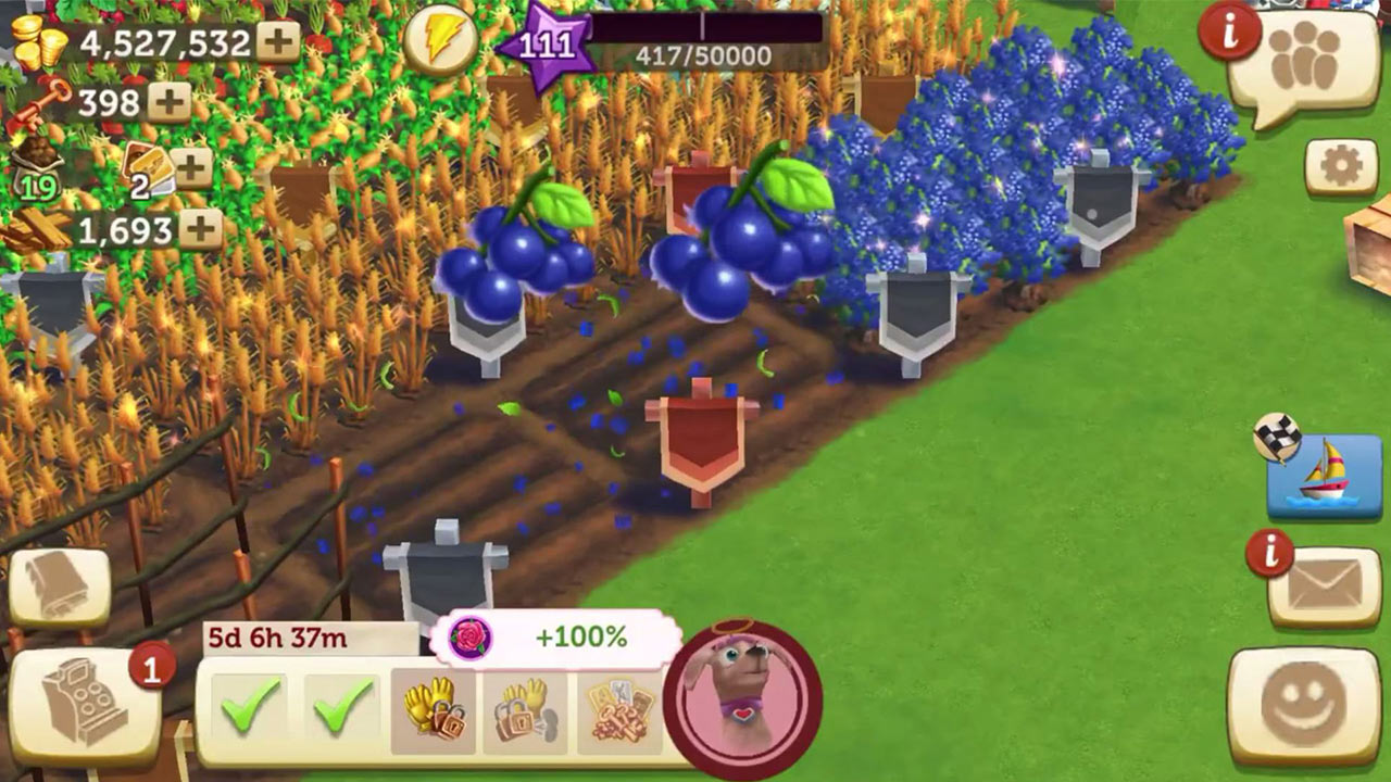 Farmville 2 Country Escape Harvest Berries