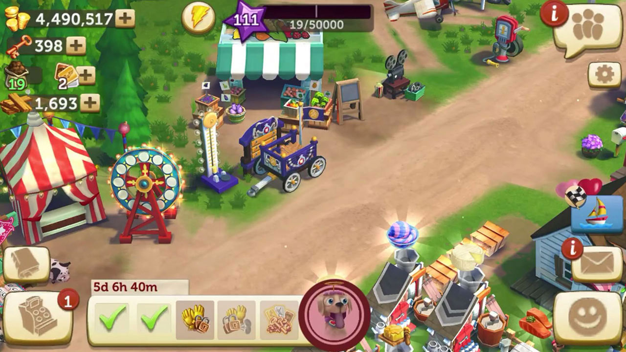 Farmville 2 Country Escape Carnival Road