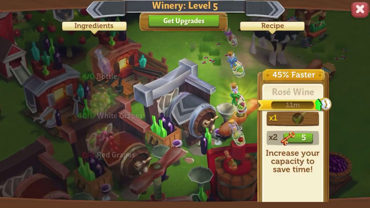 Farmville 2 Country Escape Village Upgrades