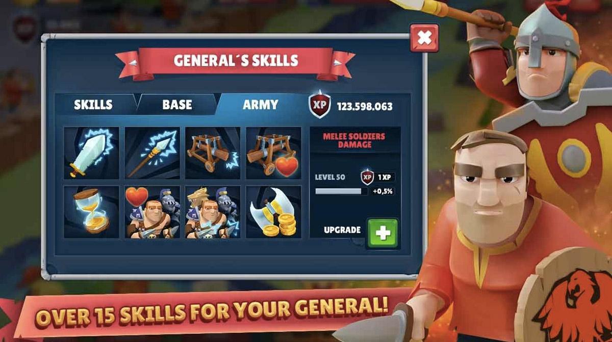 Game Of Warriors Upgrade General